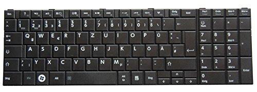 NExpert deutsche QWERTZ Tastatur Toshiba Satellite C855 C855D Series DE Schwarz Neu