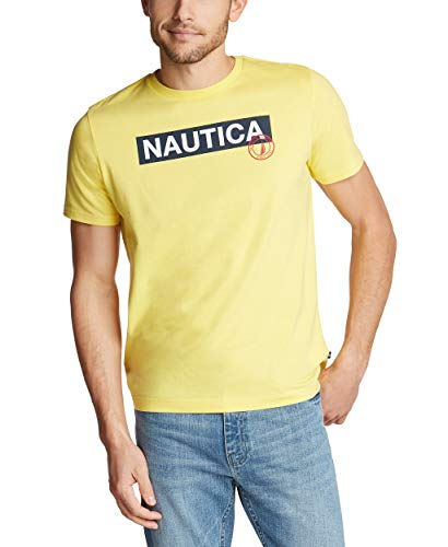 Yellow Tommy Logo Tee