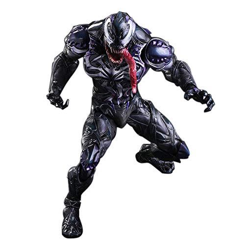GYH Venom Spiderman Marvel, Figura de acción de Venom 6.2 '' Legends