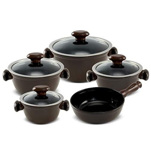 Conjunto Chef 5 Pcs - Pomodoro Ceraflame Chef Pomodoro 58x57x18, 5