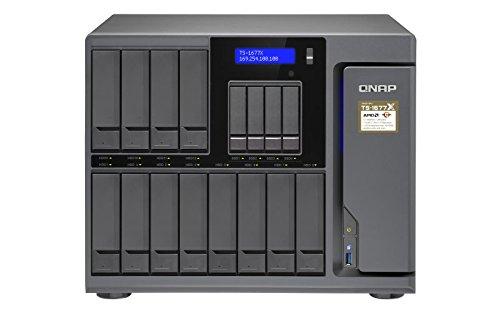 QNAP TS 1677X 1200 4G 16 Bay Desktop NAS Gehause mit 4 GB RAM