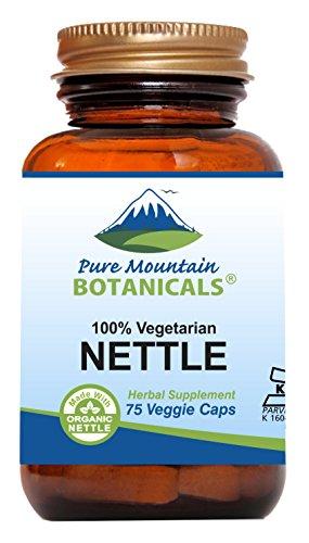 Stinging Nettle Leaf Capsules - Kosher Vegan Caps...