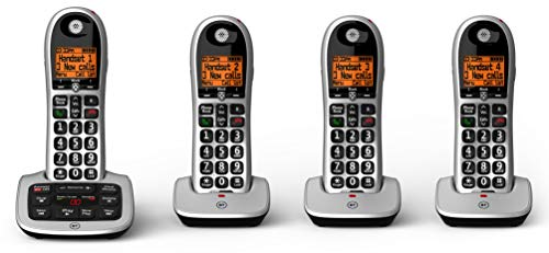 BT 4600 Big Button Advanced Call Blocker Cordless Home for sale  Delivered anywhere in UK