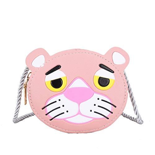 Zomer Kids Meisjes Messenger Bags Cartoon Mini Leuke schooltas Handtas voor kinderen Kleurrijke tijger