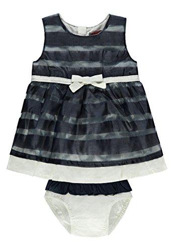 Kanz Mädchen Kleid O. Arm + Höschen 1832808, Blau (Dress Blue 3043), 86