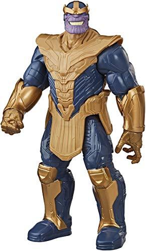 Marvel Avengers Titan Hero Series Blast Gear Deluxe Thanos Action-Figur, 30 cm Spielzeug, inspiriert von Marvel Comics, für Kinder ab 4 Jahren