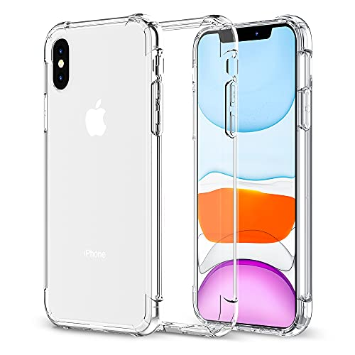 Krichit Phone Protective Case, Clear Series Case Designed for iPhone Xs Case/iPhone X Case