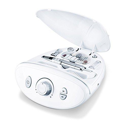 Beurer MP 100 Set Professionale per Manicure e Pedicure con Fresa per Unghie e Accessori completi, adatto anche per Unghie Artificiali