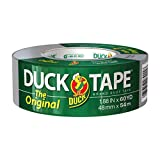 The Original Duck Tape Brand 394475 Duct Tape, 1-Pack 1.88 Inch x 60 Yard Silver