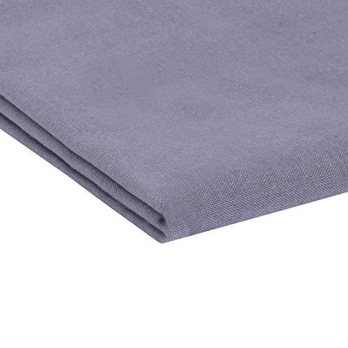leevitex® Klassische Bettlaken | Betttuch | Laken | Haustuch | Leintuch 100% Baumwolle ohne Gummizug in vielen Größen und Farben MARKENQUALITÄT (150 x 250 cm, Anthrazit Grau)