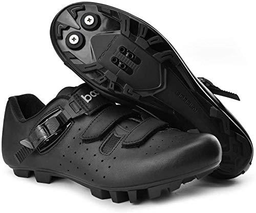 KUXUAN Calzado de Ciclismo de Carretera para Hombre,Zapatillas MTB Bike Unisex Adultos...
