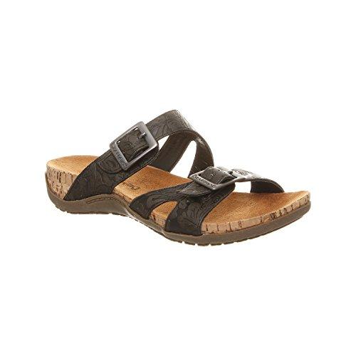 Beawpaw Maddie - Women's Supportive Slide Sandal Black - 9 Medium