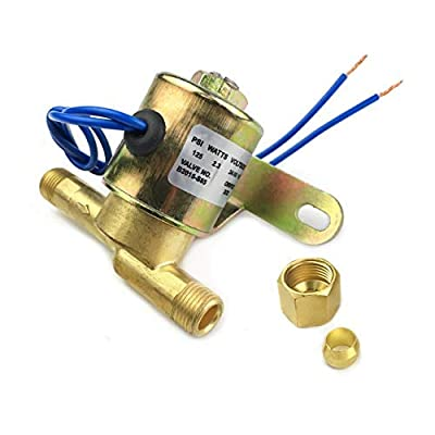 """Protac 4040 Solenoid Valve Replacement for Aprilaire Humidifiers 24V 1/4"""" by Protac"""