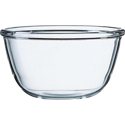Luminarc ARC G1698 Cocoon Schale, Salatschale, Schüssel, 24cm, 3.6 Liter, Glas, transparent, 1 Stück