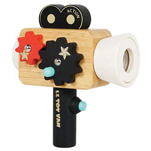 Le Toy Van-Cámara de película (Hollywood Film Camera Premium Wooden Toy)