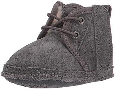 UGG Baby Neumel, Classic Boot Unisex niños, Charcoal, 36 2/3 EU