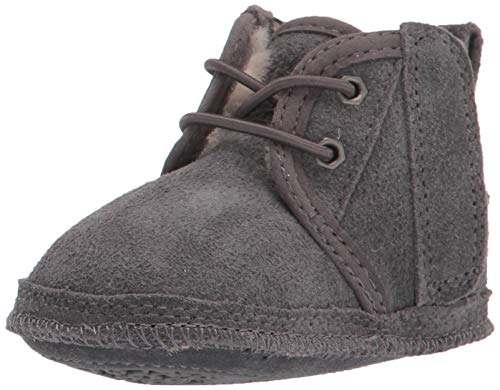 UGG Kids' Ugg Knit Boot, Black, 5 M US Big Kid