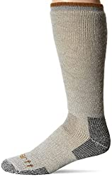 powerful Carhartt Men's Arctic Wool Heavy Boots Socks, Heather Gray, Shoe Sizes: 6-12