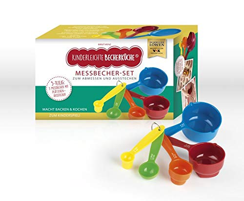 Messbecher-Set Kinderleichte Becherküche: mit 5 farbigen Cups in verschiedenen Größen