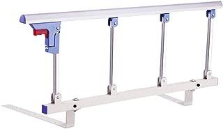 IVNZEI Foldable Bed Rail Safety Side Guard  Metal Handle Handicap Bed Railing Hospital Grip Bumper Bar  Size 120CM