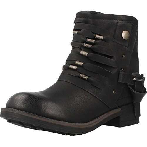 Coolway BARU Damen Stiefel Schwarz Schnür-Stiefelette Winter, Größe:EUR 36