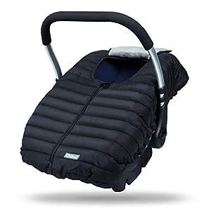 Orzbow - Saco funda universal grupo 0 maxicosi invierno bebe - Saco de paseo para capazo o silla coche de grupo 0+ (Negro)