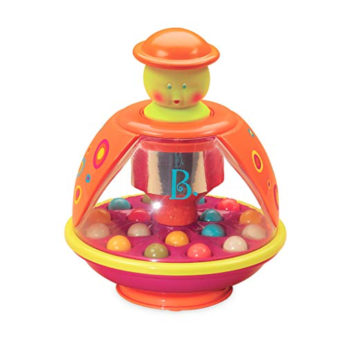 B. toys – Poppitoppy – Ball Popper Toy Tumble Top – Spinning Toys for Toddlers 1 Year +