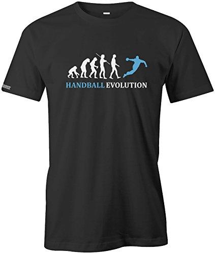 Jayess Handball Evolution - Sport - Handballer - Herren T-Shirt in Schwarz by Gr. XL
