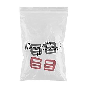 MagiDeal 4 Pcs 1 Pouce G Crochet Sangle Boucle Sangle Sac À Dos Sangle 25mm Léger pour Randonnée en Alliage D'aluminium