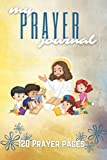 my prayer journal: a daily prayer diary for kids with 120 prayer pages | 6 x 9 notebook yellow watercolor