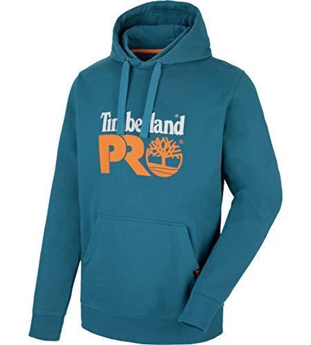 Timberland Pro Mens Hood Honcho Sport Hoodie Top Teal