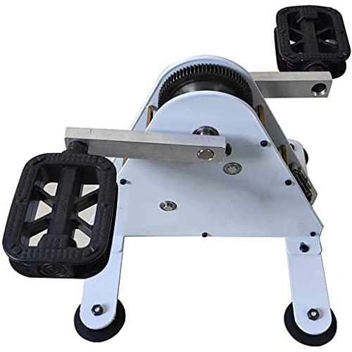 50W/100W Pedalgenerator Fußbetriebene Stromerzeugung, Handkurbelgeneratoren, Fitness-Stromerzeugungs-Rehabilitations-Trainingsgerät, Spinning Bike USB-Schnittstelle/DC1-35V-Ausgangsschnittstelle