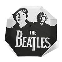 折りたたみ傘 ビートルズThe Beatles 日傘 折りたたみ 晴雨兼用 折りたたみ傘 軽量 Uv 自動開閉式 折りたたみ傘 自動開閉 梅雨対策 携帯用 収納ポーチ付き
