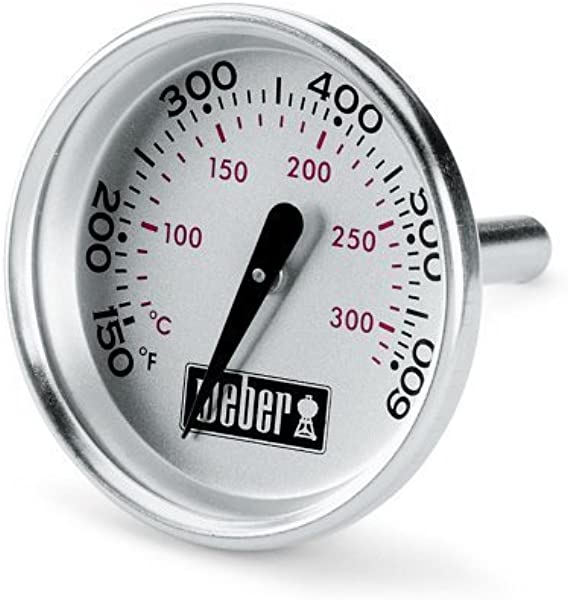 Weber 60540 Charcoal Spirit Q Grill Replacement Thermometer 1 13 16 Diameter