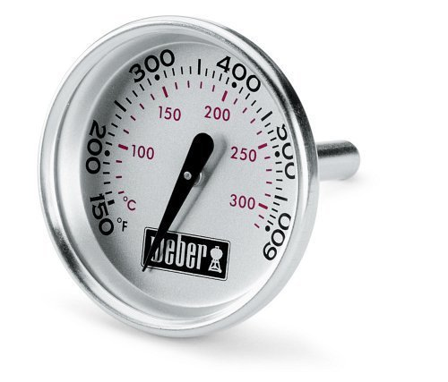 Weber 60540 Charcoal, Spirit, Q Grill Replacement Thermometer, 1-13/16\