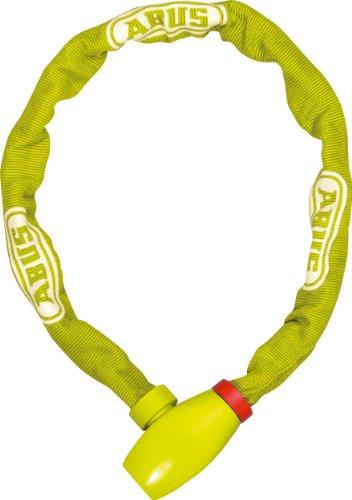 ABUS Kettenschloss uGrip Chain 585/75 Lime – Fahrradschloss aus Stahl – Sicherheitslevel 5 – 75 cm – 58459 – Gelb/Grün