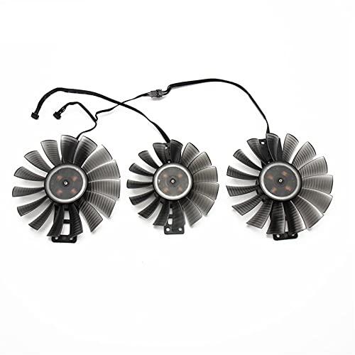 Jinyouqin 3pcs / Lot GA92S2H GA82S2M für GeForce RTX 2080 TI Phoenix GS Kühlerlüfter für Gainward für GeForce GTX 2080TI Grafikkartenkühlung Lüfter