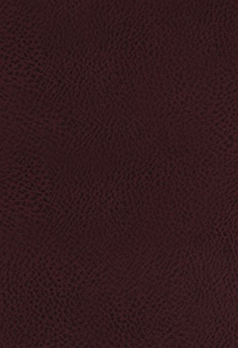 KJV, The King James Study Bible, Bonded Leather, Burgundy, Thumb Indexed, Red Letter, Full-Color Edition: Holy Bible, King James Version