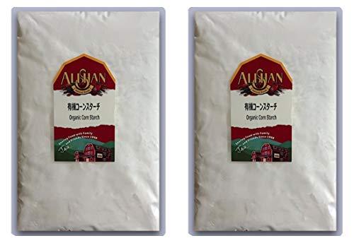 アリサン 有機コーンスターチ 1Kg × 2