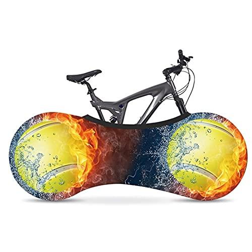 HGDQ Cubierta de Bicicleta Cubierta de Bicicleta Tela de Seda de Leche Protección Ambiental Protección Ambiental Cubierta de Polvo de Bicicleta Interior Tapa de neumáticos de Bicicleta Accesorios