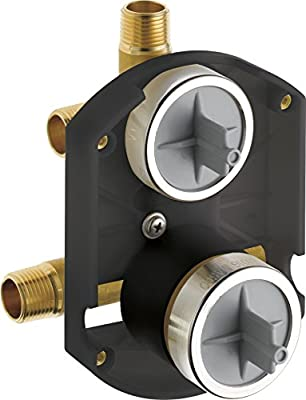 Delta Faucet R22000 Multichoice Universal with Integrated Diverter Rough, 1, Champagne Bronze