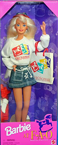 Barbie 1996 at FAO Special Edition Loves to Shop at FAO