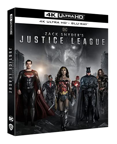 Zack Snyder's Justice League (4K Ultra HD + Blu Ray)