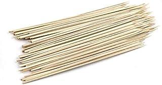 bbq spit - 200pcs/pack BBQ Tools Long Bamboo Skewers sticks BBQ Candy stickers Twister Cotton Floss BBQ Accessories Restau...