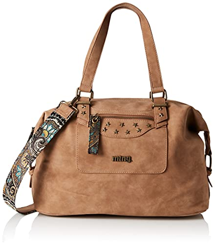 MTNG Bolso Cyan C52201 Hila Cuero/Pasley Multicolor, Mujer, One Size