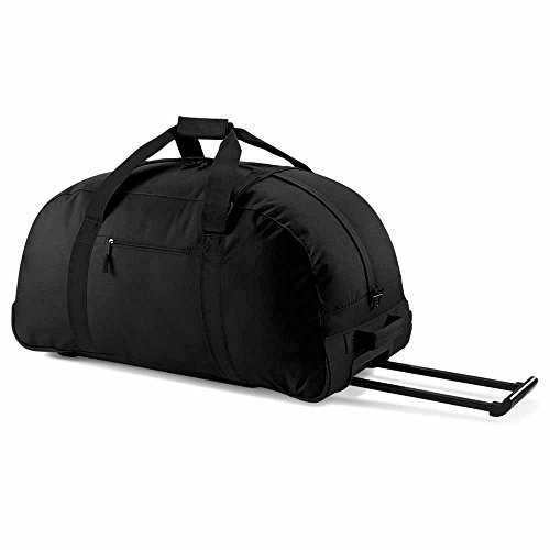 Bag Base - grand sac de voyage trolley 105 L - BG23 - Wheely holdall - coloris noir