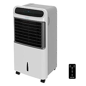 Cecotec Climatizador Evaporativo EnergySilence PureTech 6500. 80 W, Doble Función Frio/Calor, Caudal 600 m2/h, 12l de Capacidad, Temporizador hasta 8h, Mando a Distancia, 3 Velocidades