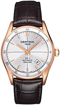 Certina DS 1 Automatic Silver Dial Men's Watch (C0064073603100)