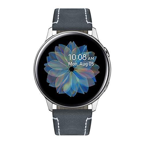 BINLUN Cinturini compatibili con Samsung Galaxy Watch 42mm/46mm,Active 2,Samsung Gear S3 Classic/Frontier Smartwatch Rilascio rapido Cinturini in pelle di cavallo pazzo Cinturino di ricambio 20mm 22mm