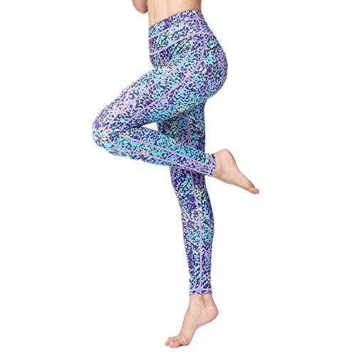QWEASDZX Pantalones De Yoga, Pantalones para Correr, Mallas De Fitness, Polainas, Pantalones Deportivos De Moda, Polainas L